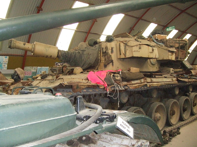 AVRE 165 mm (6.5 in), Cobbaton Tank Museum, 2007