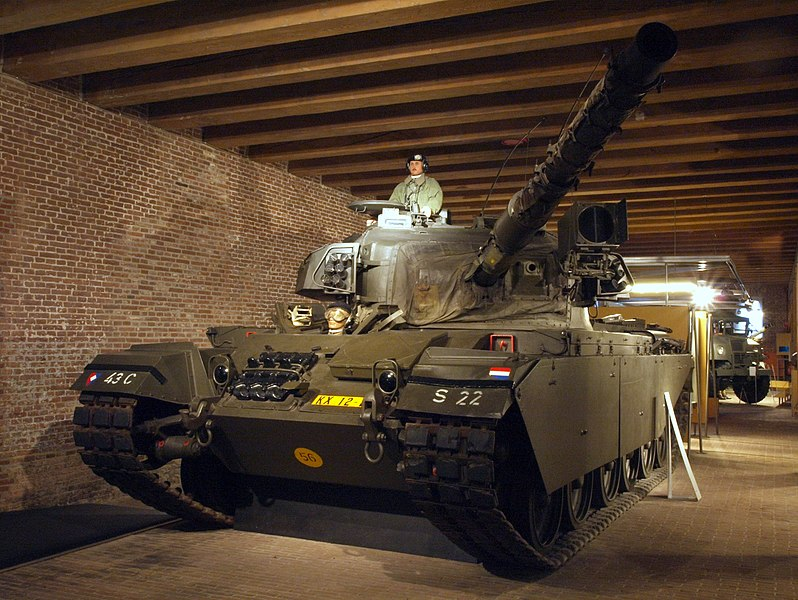 Dutch Mark 5-2 at Legermuseum Delft Museum.