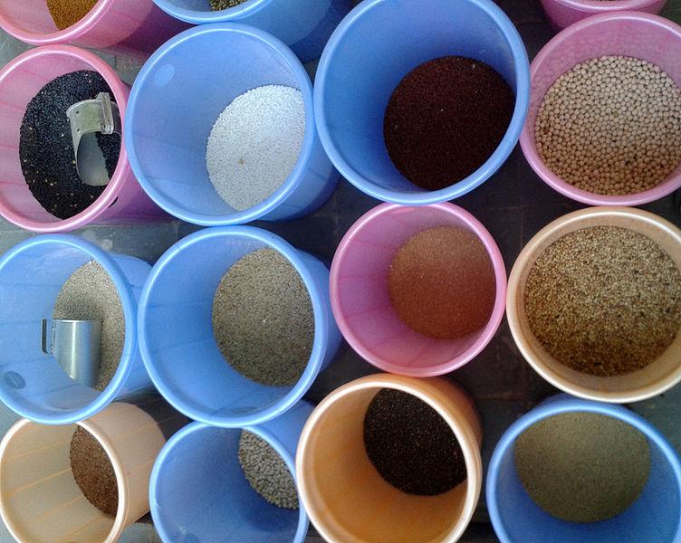 File:Cereals and Millet at a Bazaar in Nizampet 02.jpg