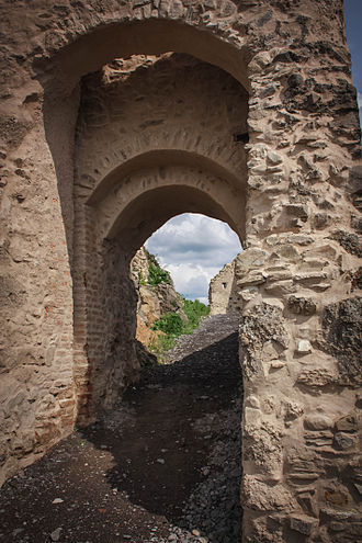 Rupea - Entrance to the Citadel