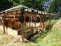 Cetatea dacică de la Tilişca, ruine turn. 03.jpg