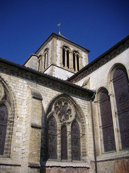 Saint John church of Châlons-en-Champagne (Marne, France), tower