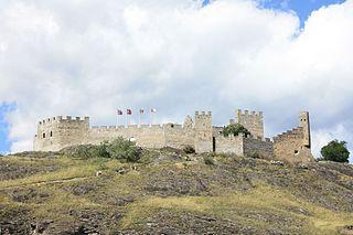 Castle in Sion, Switzerland