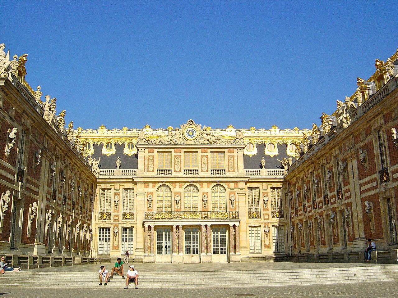 File ch teau de versailles cour de wikimedia commons - Photo chateau de versailles ...