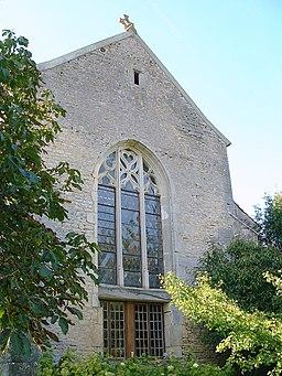 Châtel-Gérard Prieuré de Vausse Eglise 2