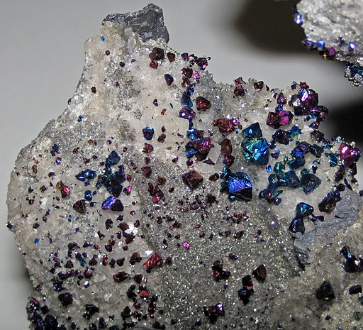Chalcopyrite (Casteel Mine, Iron County, Missouri, USA) 1