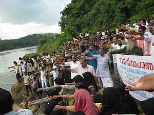 Chaliyar - River Protection Agitation at Chaliyar