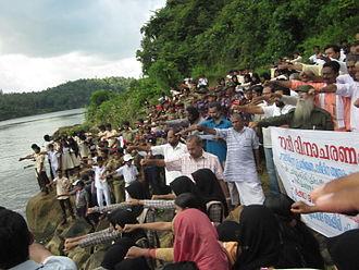 Chaliyar - River Protection Agitation at Chaliyar