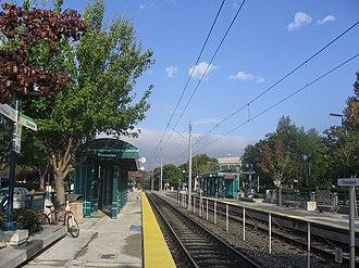 Champion station - Champion Station platform, 2012