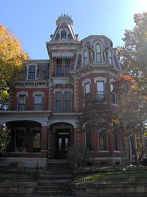 Julia-Ann Square Historic District - Image: Chancellor House