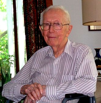 Charles Duncan Michener - Charles D. Michener at home, 2015