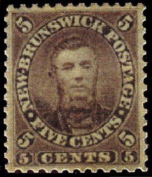 Charles Connell - The 5 cent stamp depicting Charles Connell.