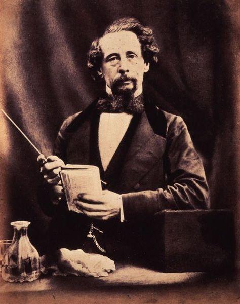 File:Charles Dickens by Herbert Watkins 29 April 1858. National Portrait Gallery, London..jpg