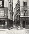 Charles Marville, Rue des Lavandières, de la Place Maubert, ca. 1853–70.jpg