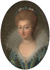 Portrait of Charlotte-Marguerite de Montmorency, Princesse of Condé