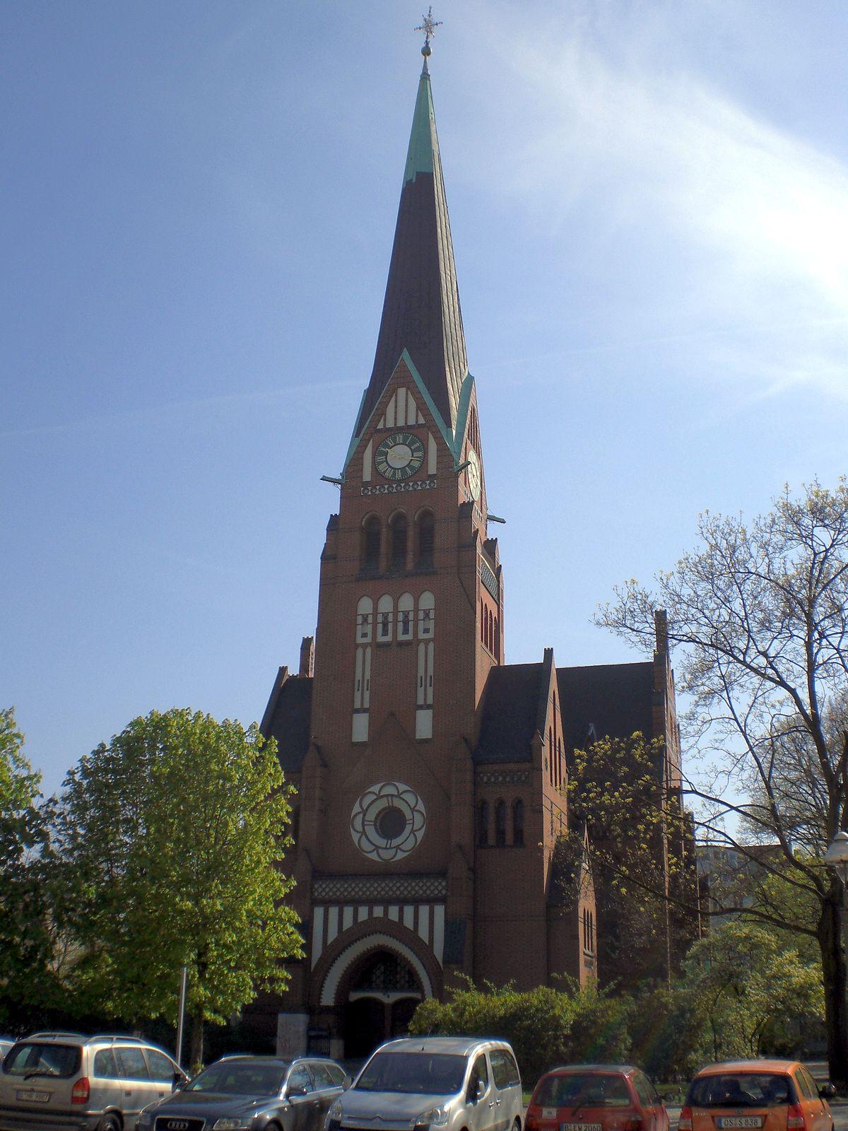 trinitatis kirche berlin charlottenburg wikipedia. Black Bedroom Furniture Sets. Home Design Ideas