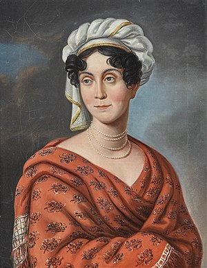 Duchess Charlotte Georgine of Mecklenburg-Strelitz - The Duchess of Saxe-Hildburghausen, 1800
