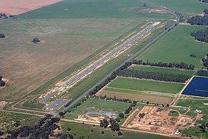 Charlton, Victoria - Charlton Airfield overview