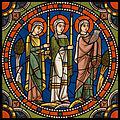 Chartres VITRAIL DE LA VIE DE JÉSUS-CHRIST Motiv 10 La Chandeleur.jpg