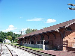 Chemung Railway Depot Track Side.jpg