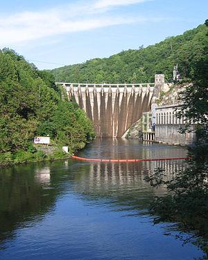 Cheoah Dam - Image: Cheoah Dam