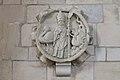 Cheux église Saint-Vigor bas-relief Saint-Vigor.JPG