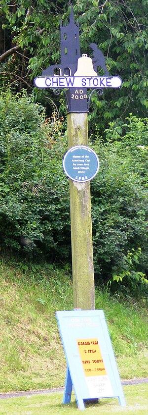 Chew Stoke - Signpost in Chew Stoke