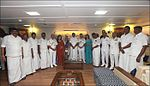 Chief Minister of Tamil Nadu Edappadi K. Palaniswami, Ministers of Govt of Tamil Nadu, family members and Senior Officers of Navy during dedication ceremony of INS Chennai.jpg