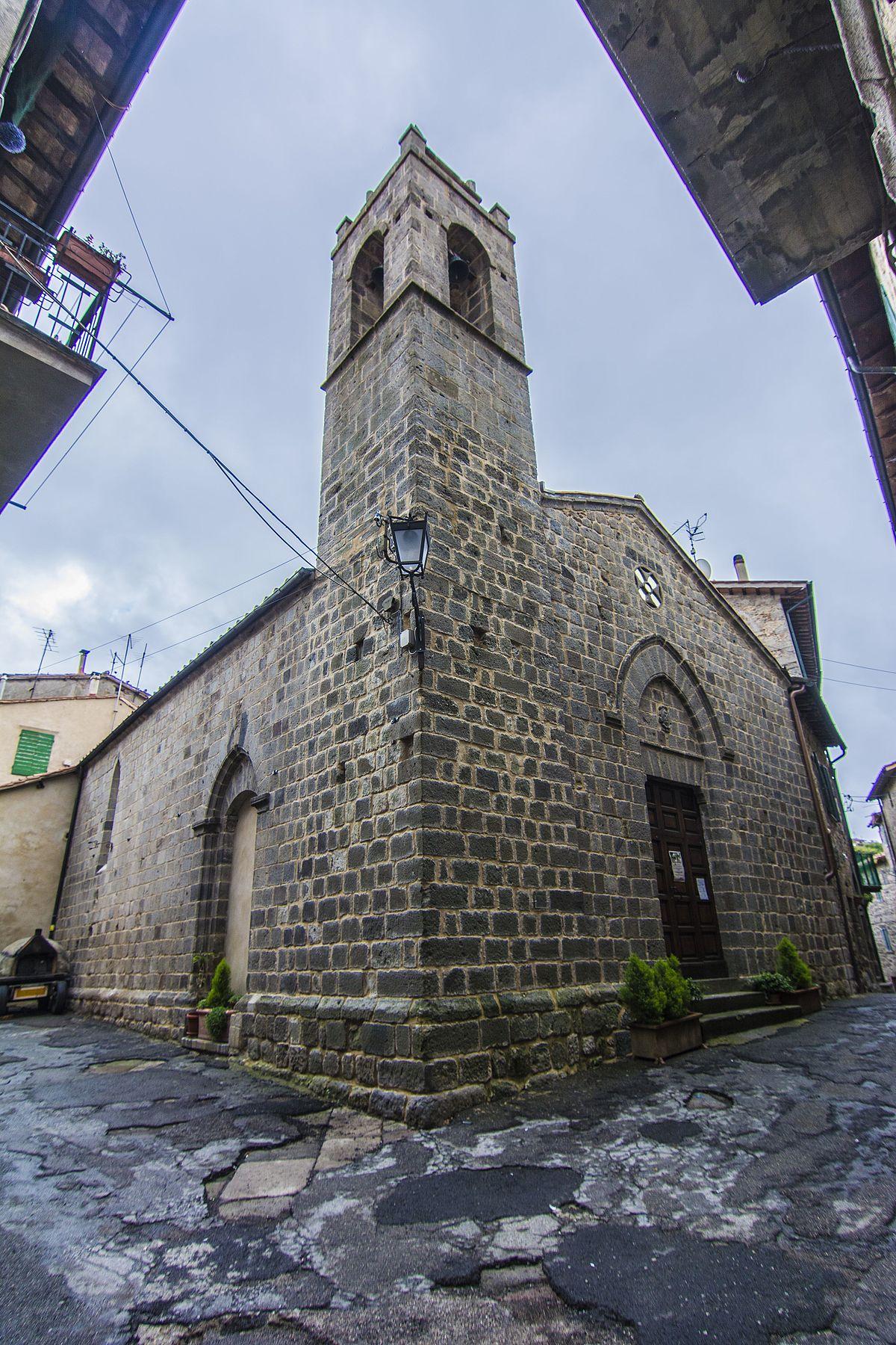 Chiesa di san leonardo abbadia san salvatore wikipedia for Mobilia san salvatore