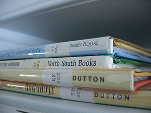 Children´s library books. Photo from here. Tak...