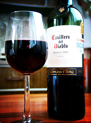 Merlot from Concha Y Toro in Chile