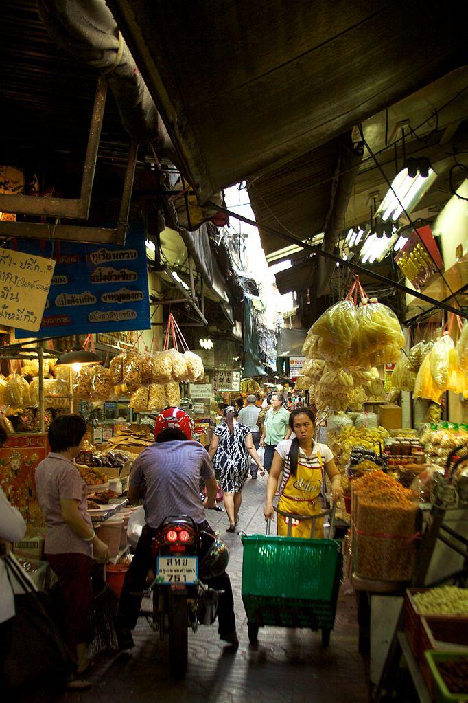 Marché Talat Leng-Buai-la dans Chinatown à Bangkok - Photo de McKay Savage.