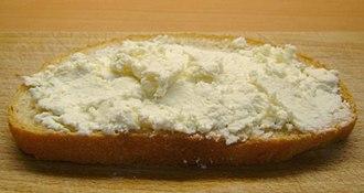 Bryndza - Image: Chleb z bryndza