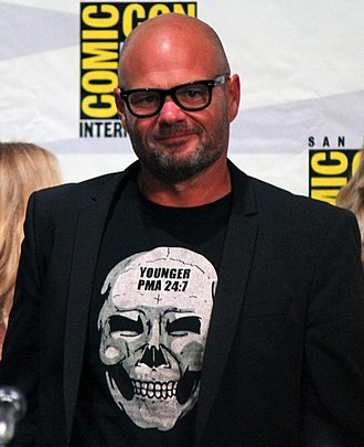 Chris Bauer - Bauer at the True Blood panel at the San Diego Comic-Con International in July 2014