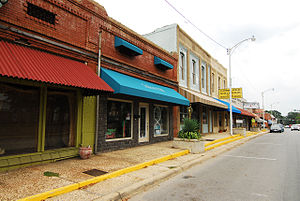 Sheridan, Arkansas - Downtown Sheridan in 2011