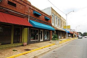 Sheridan, Arkansas - Downtown Sheridan in 2011