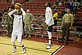 Chris Paul and Kevin Durant practice shooting before USA vs Dominican Republic.jpg