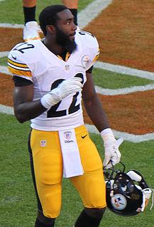 American football player, running back