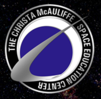 Christa McAuliffe Space Education Center - Space Center logo