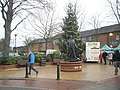 Christmas tree in Leigh Road - geograph.org.uk - 1616568.jpg