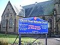 Church Road Methodist Church, St Annes-on-Sea, Sign - geograph.org.uk - 724911.jpg