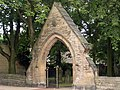 Church entrance gate, Outwood - geograph.org.uk - 905906.jpg