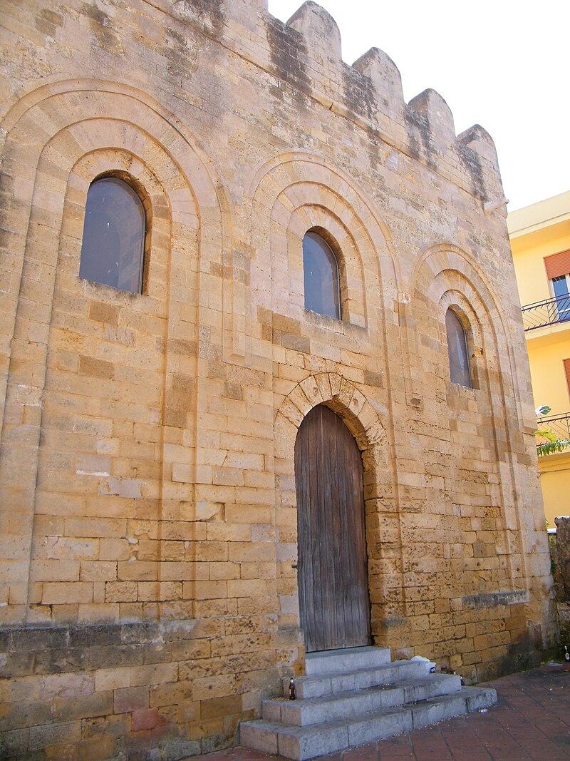 Church of San Nicolò Regale front - Mazara.jpg