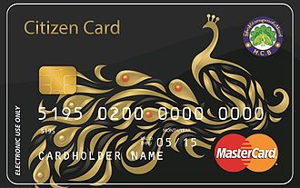 2C2P - Citizen Card, Myanmar's first prepaid card with a virtual application
