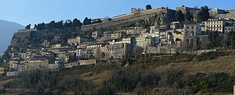 Province of Teramo - The town and fortress of Civitella del Tronto.