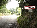 Cléville (Seine-Mar.) entrée, route de la Chapelle.jpg