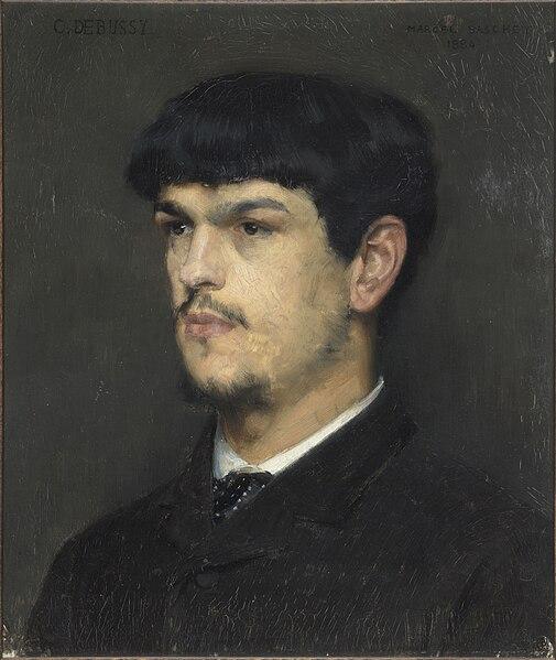 Αρχείο: Claude Debussy, πορτρέτο από τον Marcel Baschet (1884) .jpg