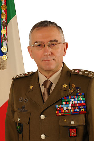 Chief of the Defence Staff (Italy) - Image: Claudio Graziano