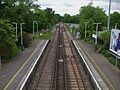 Claygate station high northbound.JPG