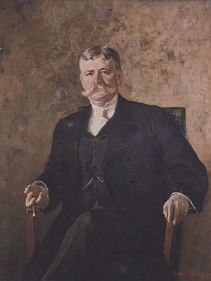 Clement Griscom - Clement Acton Griscom by Fedor Encke painted in 1899.